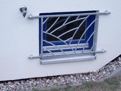 Individuelles Fenstergitter, Bauschlosserei Fritsche Kiel