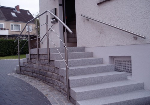 Handlauf Und Geländer Aus Edelstahl