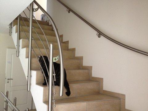 Individuelles Treppengeländer von der Bauschlosserei Fritsche Kiel